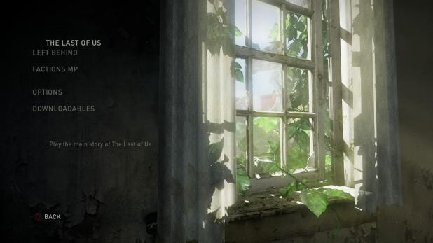 Main Menu UI - The Last Of Us