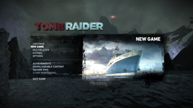 Main Menu - Tomb Raider