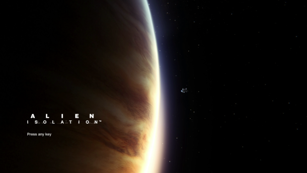Start Sequence UI - Alien Isolation