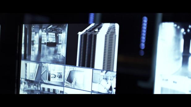 Surveillance UI - Tron Legacy