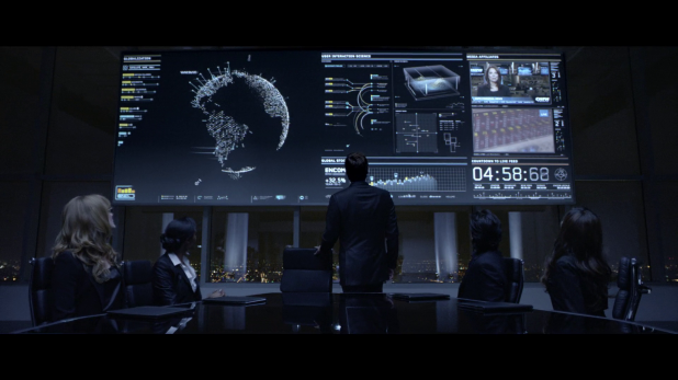 Map UI - Tron Legacy