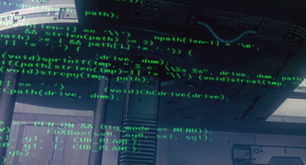 Terminal UI - Ghost in the Shell