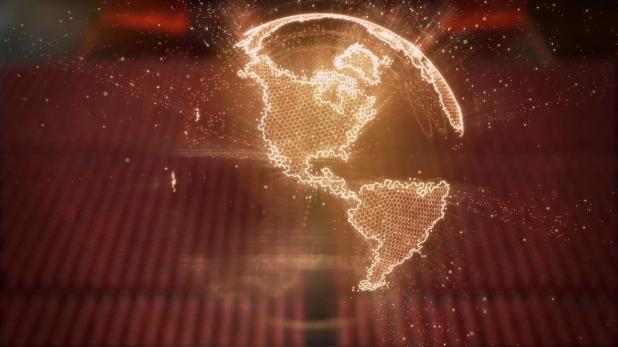 Map UI - Tron Legacy