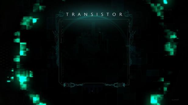 Pause Menu - Transistor