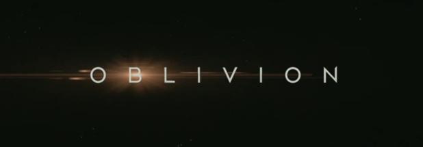 Oblivion Trailer Logo