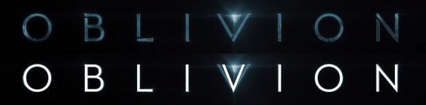 Oblivion Title Font