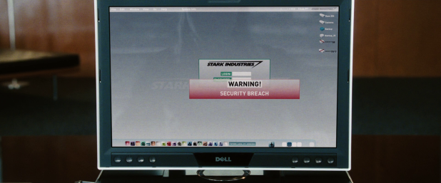 Warning UI - Iron Man 1