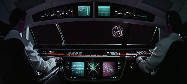 Cockpit UI - 2001 A Space Odyssey