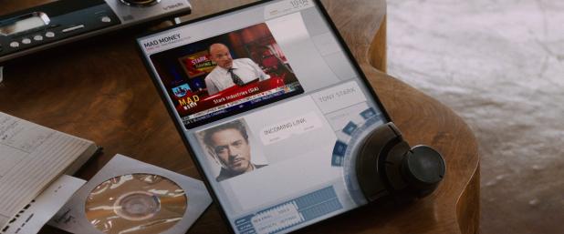 Portable Devices UI - Iron Man 1