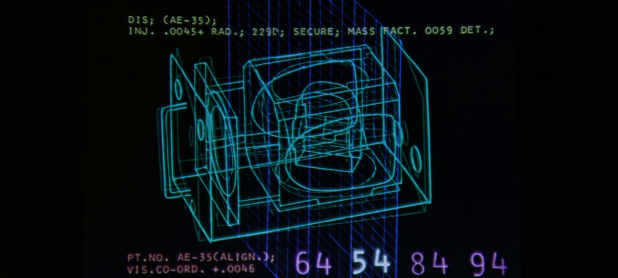 Schematic UI - 2001 A Space Odyssey