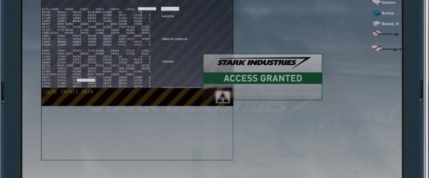 Security UI - Iron Man
