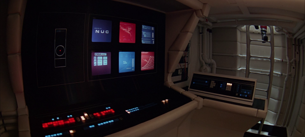 Control Panel UI - 2001 A Space Odyssey