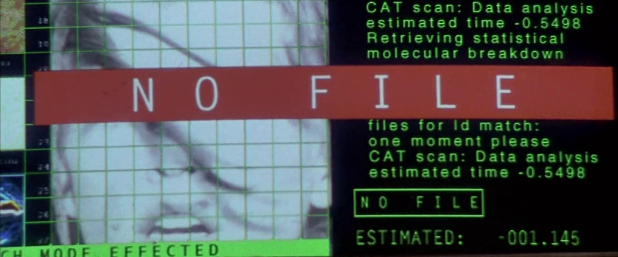 Warning UI - The Fifth Element