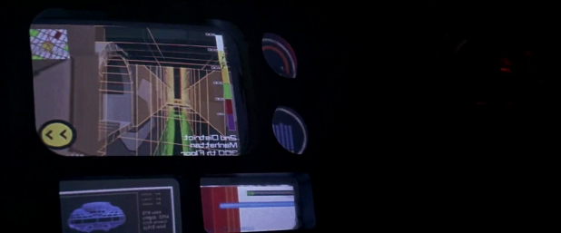 Navigation UI - The Fifth Element