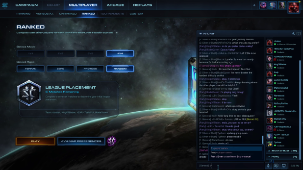 Starcraft 2 Patch 3.0 UI Revamp
