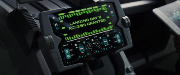 Cockpit UI - Total Recall (2012)