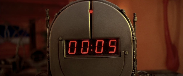 Countdown UI - The Fifth Element