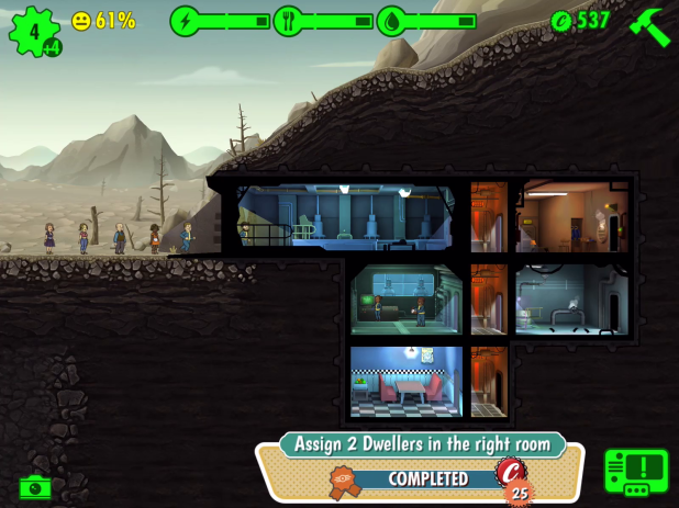 Objective UI - Fallout Shelter