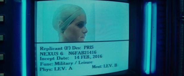 Database UI - Blade Runner