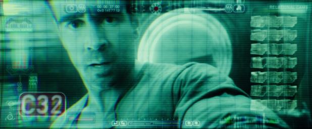 Surveillance UI - Total Recall (2012)