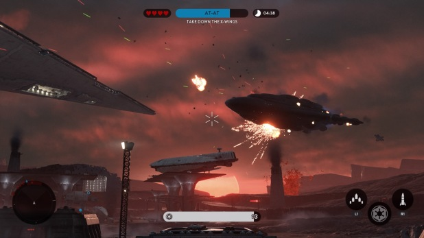 Reticle UI - Star Wars Battlefront